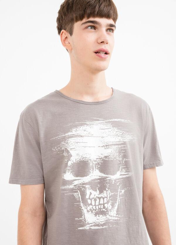 100% cotton printed T-shirt | OVS