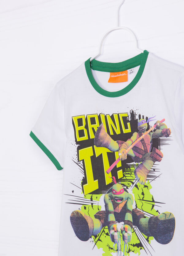 T-shirt puro cotone stampa Ninja Turtles   OVS