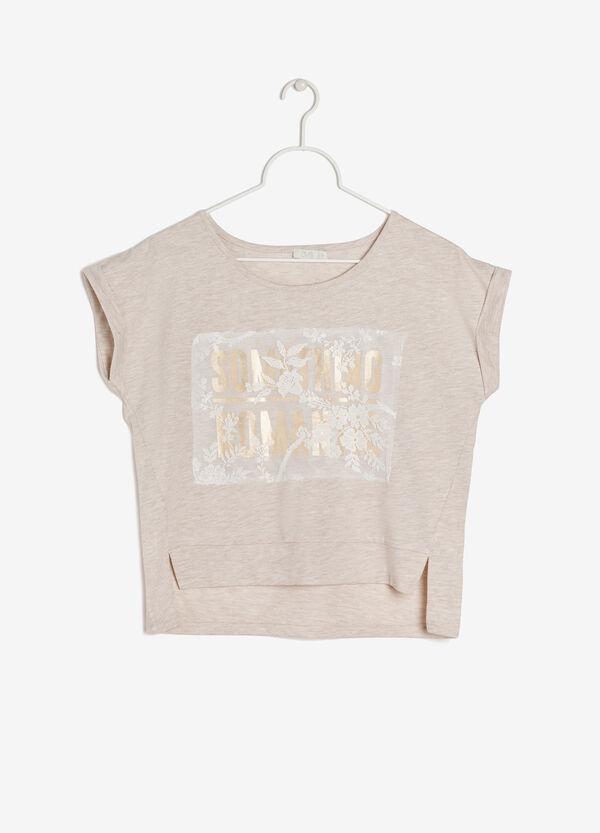 Sleeveless printed T-shirt | OVS