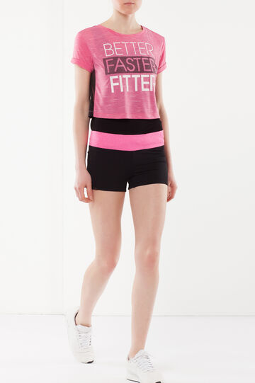 Short sleeve T-shirt, Fuchsia, hi-res