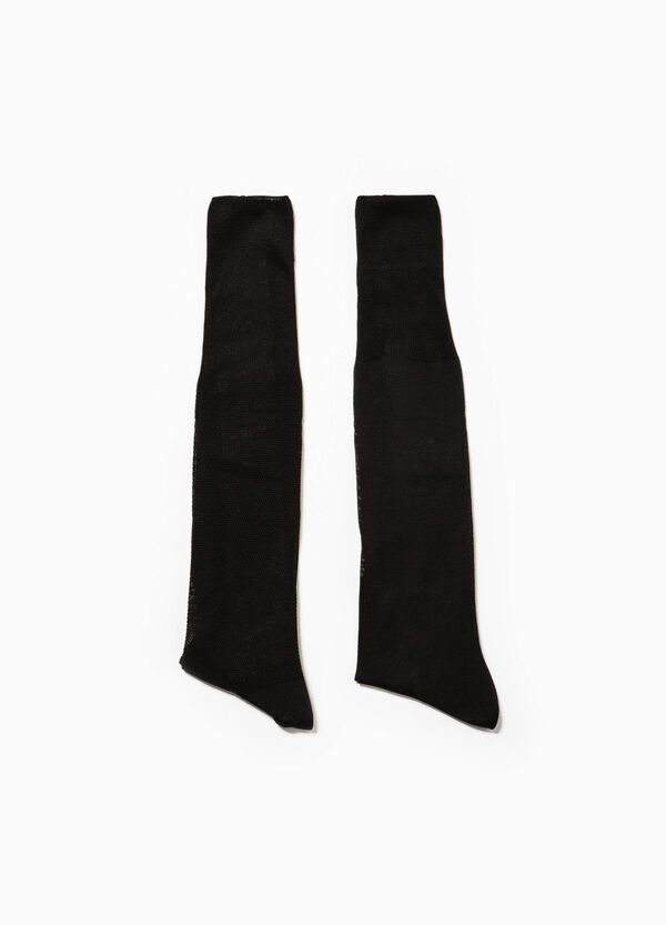 Two-pair pack short socks in Egyptian cotton | OVS