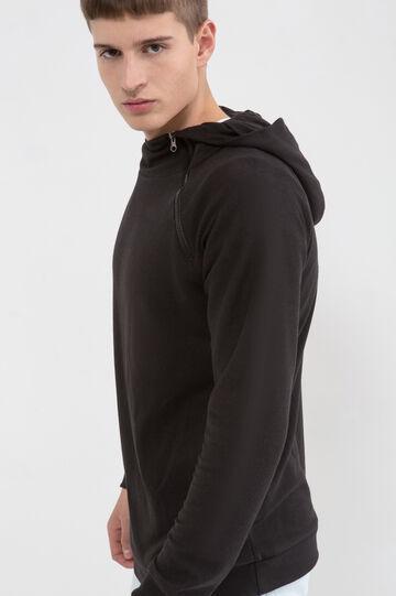 Cotton blend hoodie.