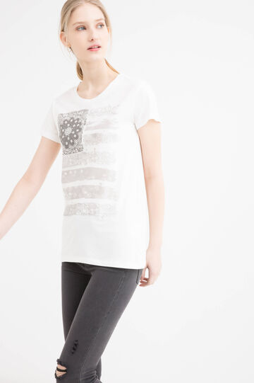 Printed T-shirt in 100% cotton