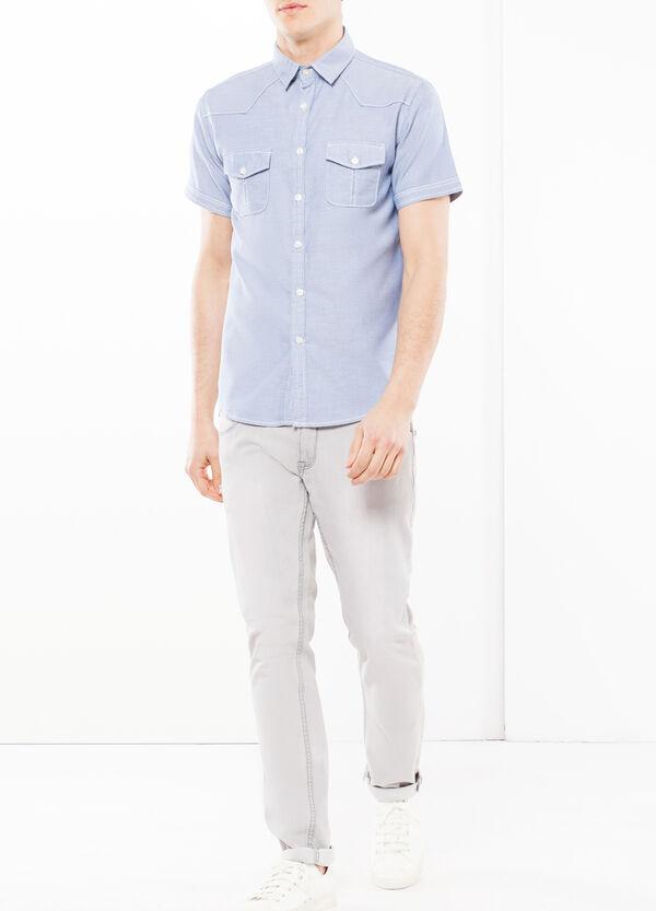 Camicia oxford lavato G&H | OVS