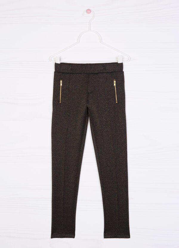 Trousers in stretch viscose blend | OVS