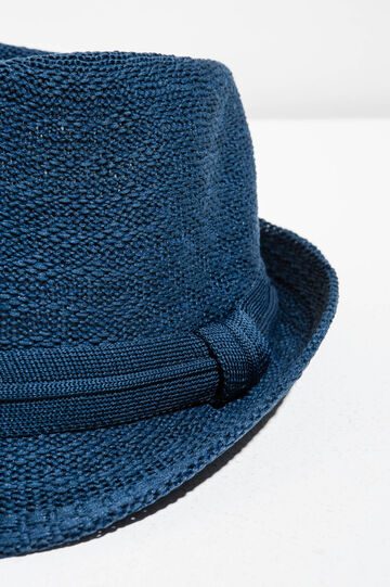 Wide brim hat, Cornflower Blue, hi-res