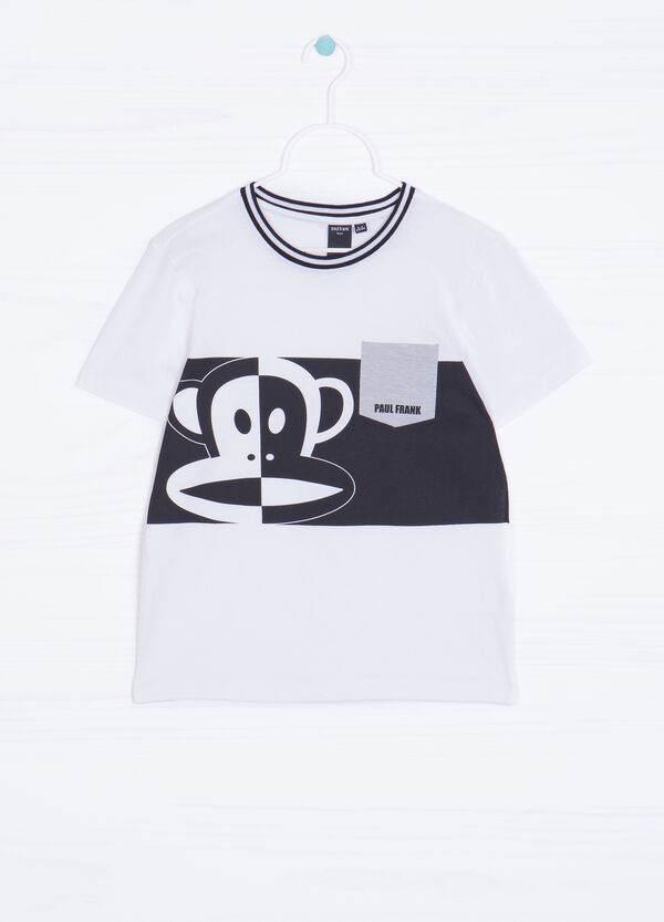 Paul Frank print cotton T-shirt | OVS