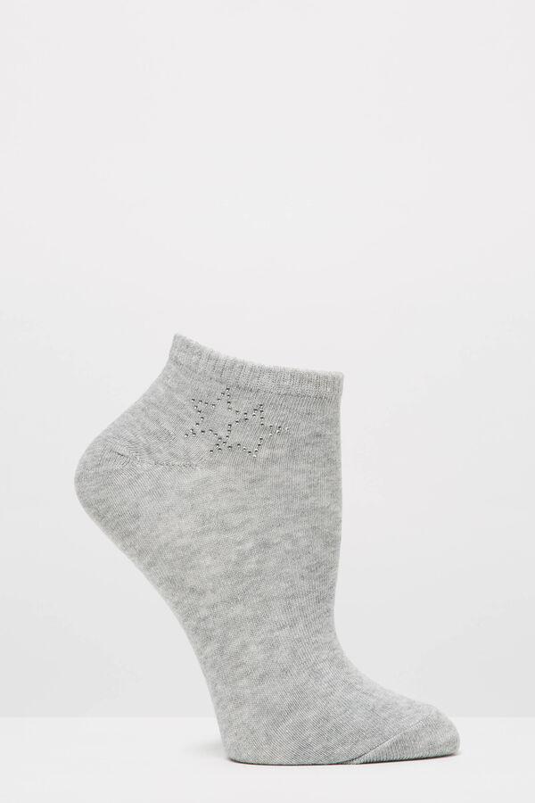 Calze corte stretch con strass | OVS