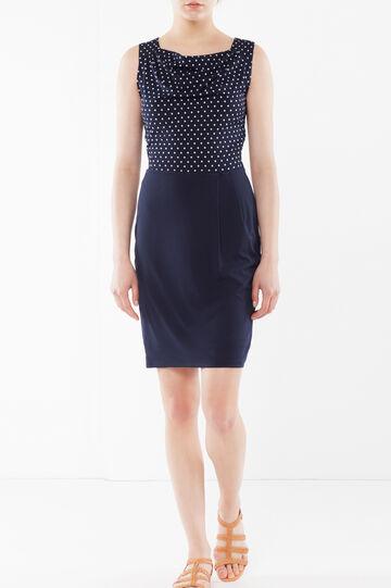 Sleeveless stretch dress, Blue, hi-res