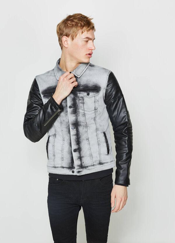 Giubbino di jeans stretch zip ai polsi | OVS