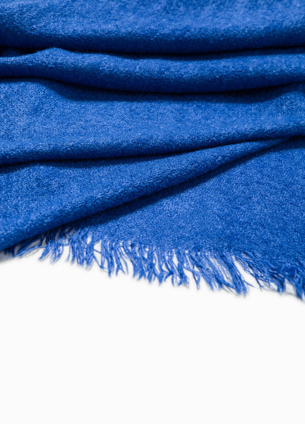 Scarf with fringed trim | OVS