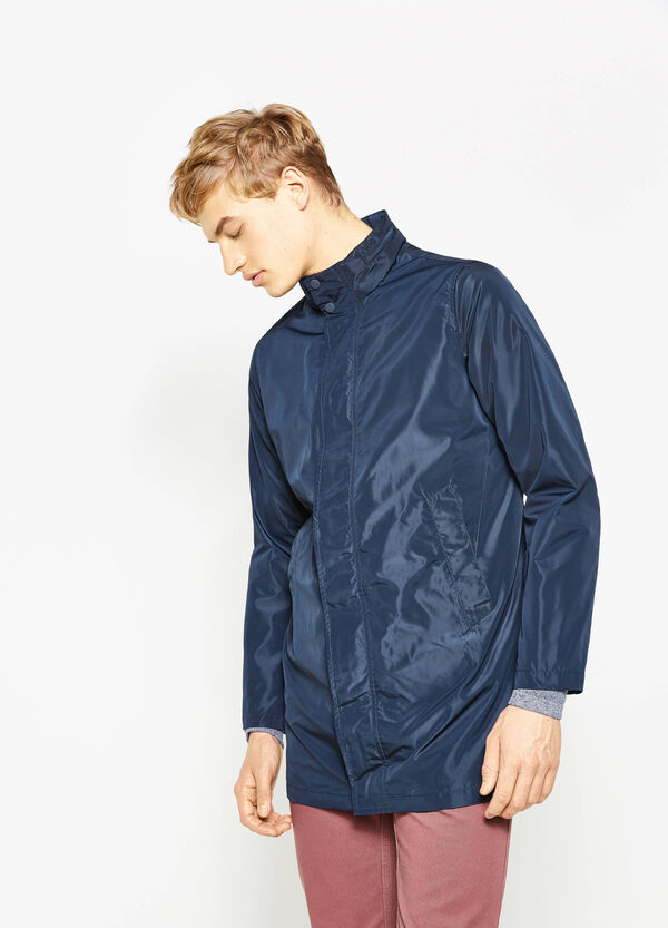 Waterproof jacket with high neck | OVS