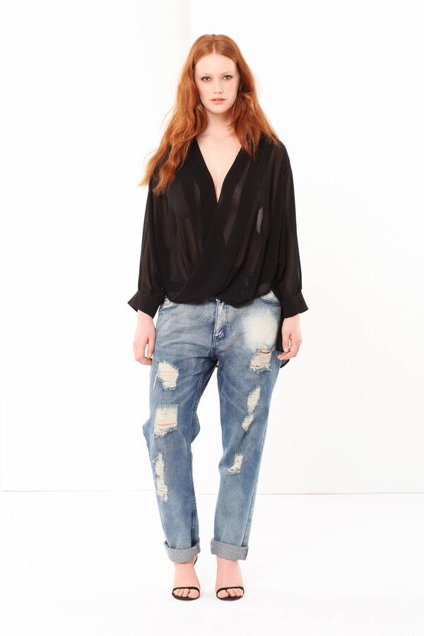Blusa drappeggiata Curvyglam | OVS