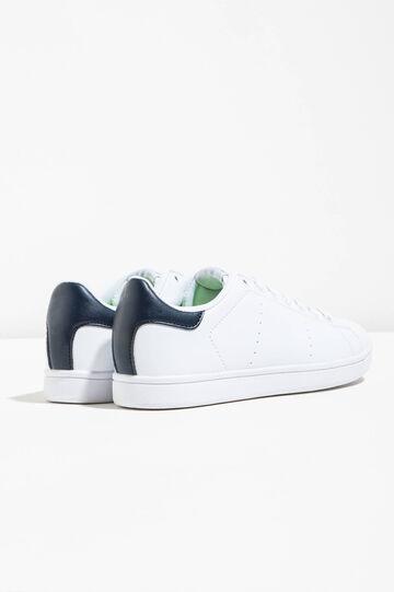 Sneakers con tomaia traforata, Bianco, hi-res