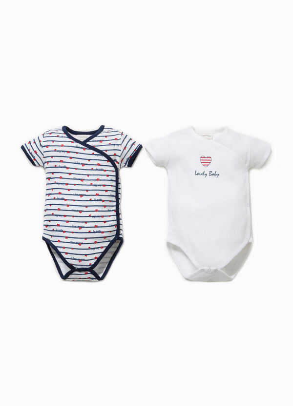 Two-pack bodysuits in 100% Biocotton | OVS