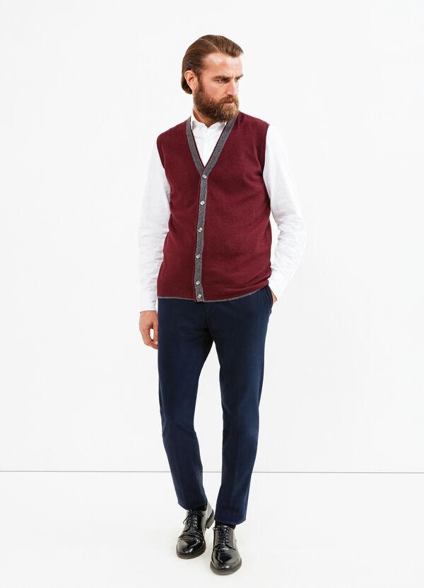 Gilet Rumford in lana e cashmere | OVS
