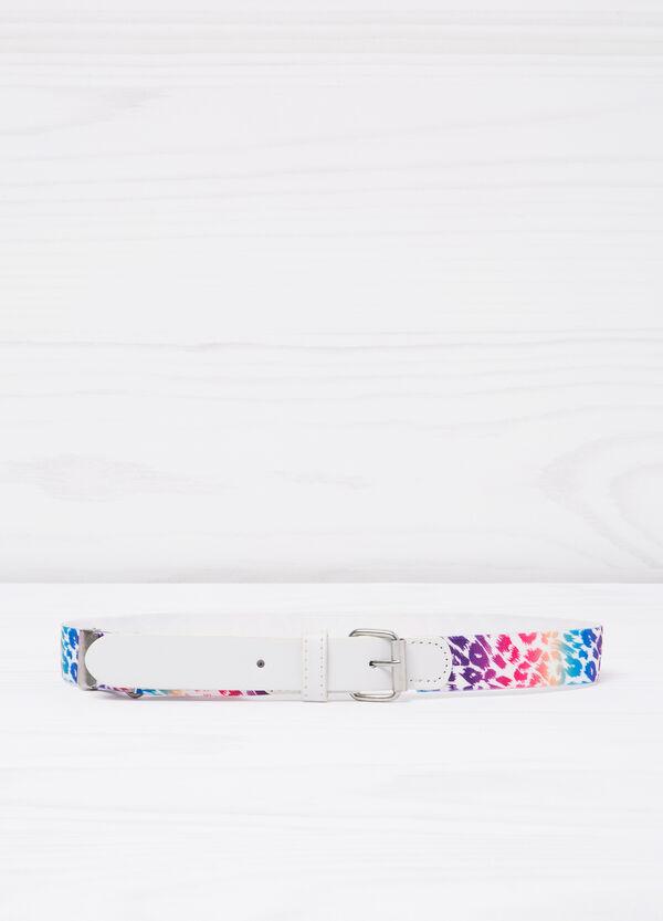 Animal print stretch belt   OVS