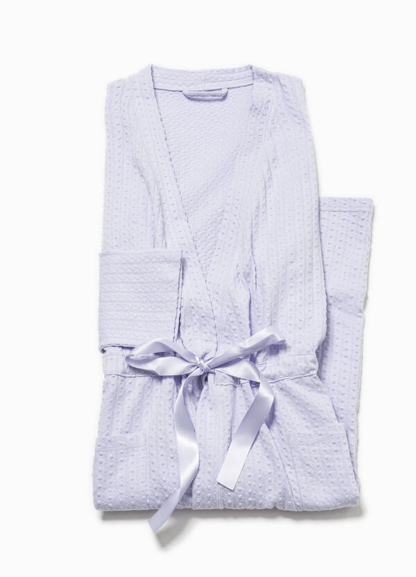 Dressing gown with drawstring | OVS