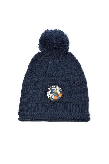 Mickey & Friends beanie cap, Blue, hi-res