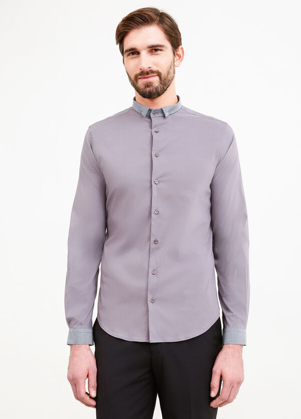 Custom-fit stretch formal shirt | OVS