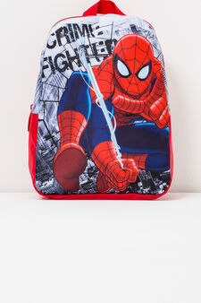 Backpack with Spiderman print, Red, hi-res