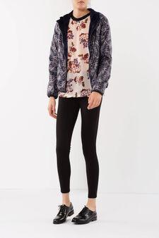 Hooded jacket, Multicolour, hi-res