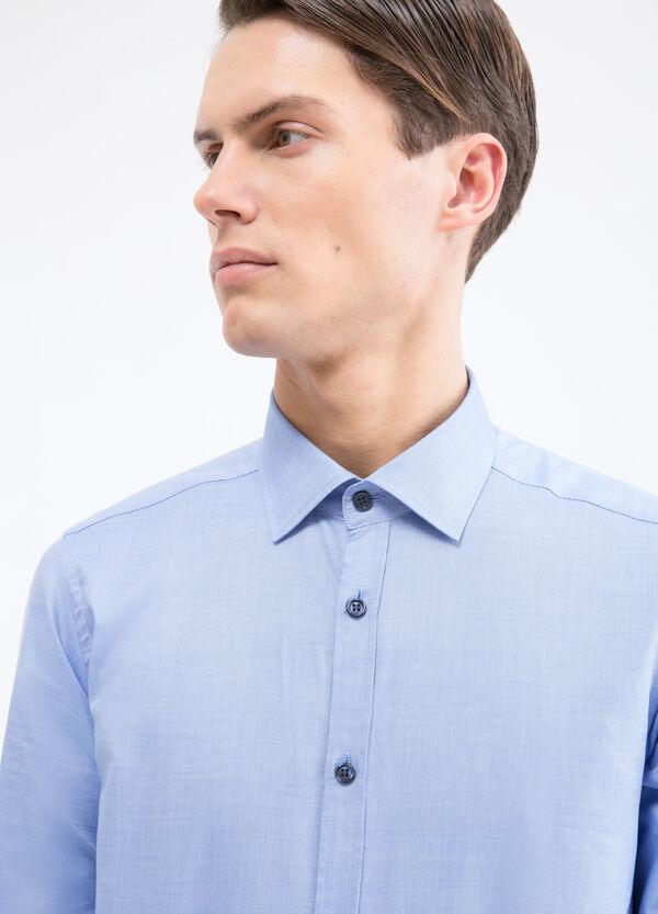 Camicia puro cotone slim fit   OVS