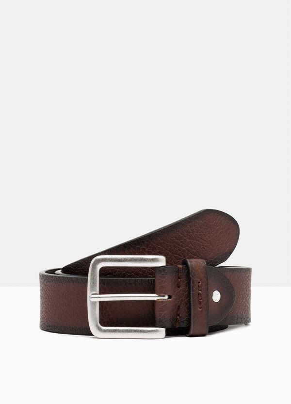 Belt with metal buckle. | OVS