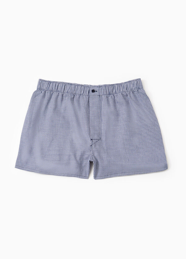 Patterned boxer shorts with elasticated waistband | OVS