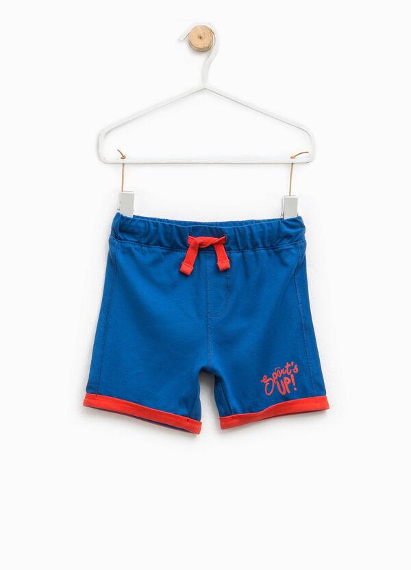 Pantaloncini con risvolto a contrasto | OVS