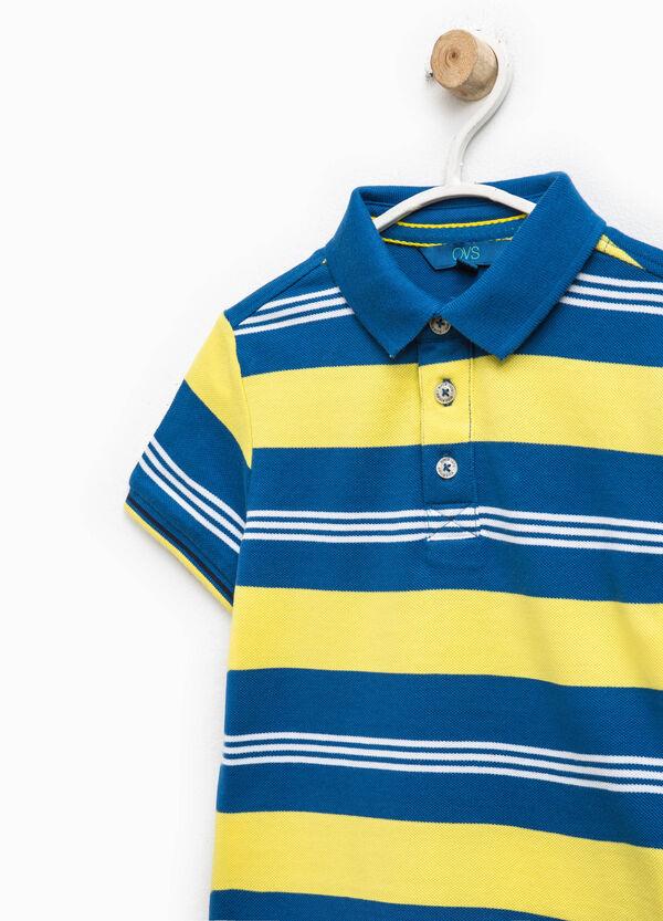 Polo in puro cotone a righe | OVS