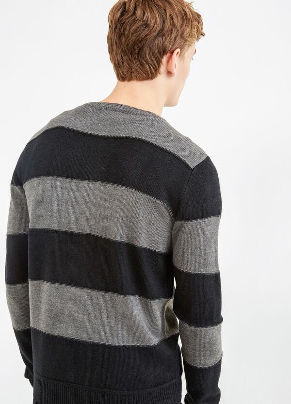 G&H striped pattern pullover | OVS