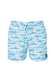 Boxer mare stampa Maui and Sons, Blu navy, hi-res