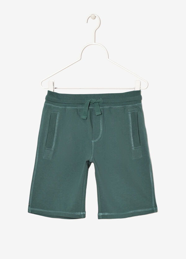 Bermuda shorts with pockets and drawstring | OVS