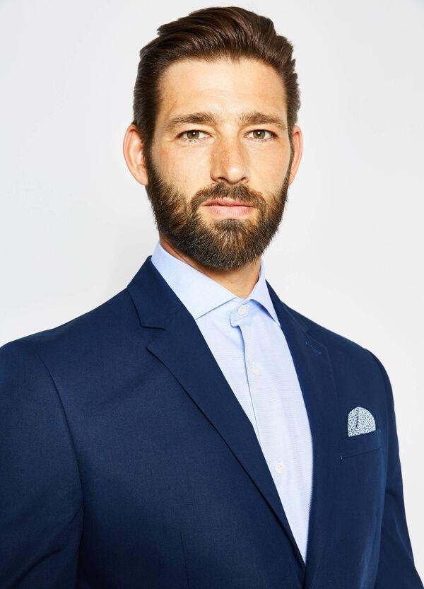 Slim-fit elegant cotton jacket | OVS