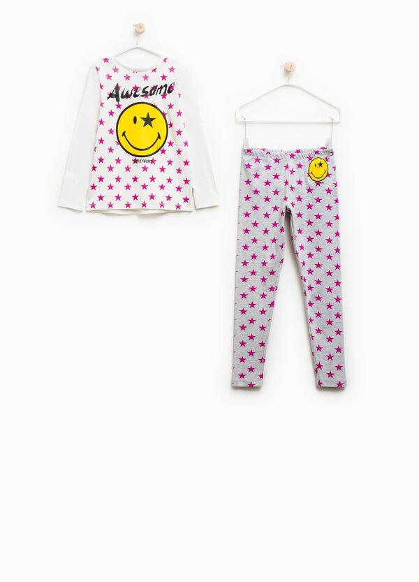 Star pattern pyjamas in 100% cotton | OVS