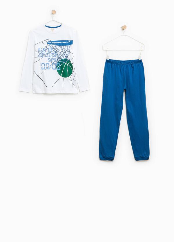 100% Biocotton printed pyjamas | OVS
