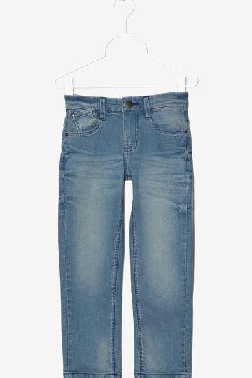 Ombré effect jeans., Light Blue, hi-res