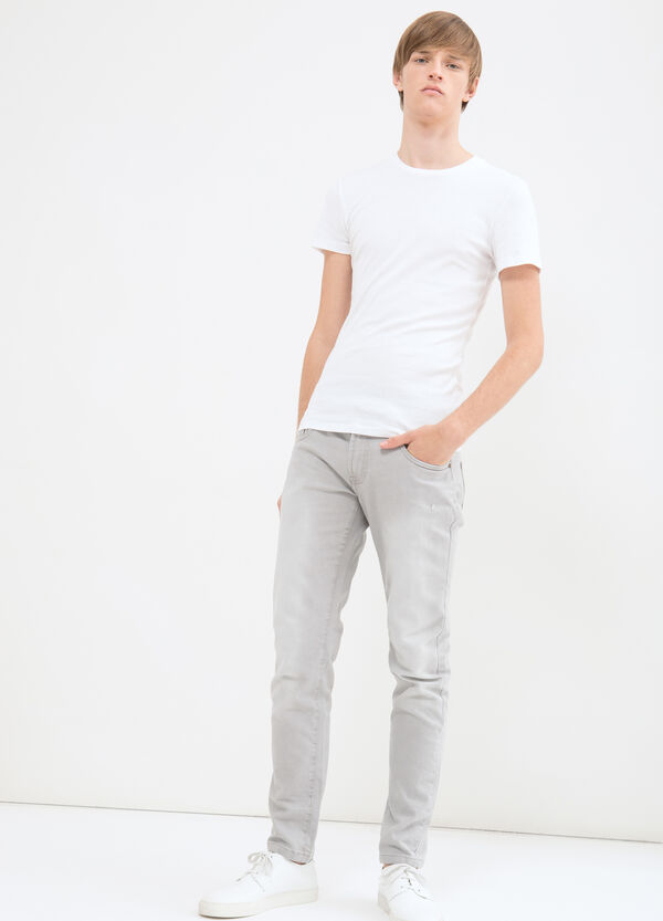 Jeans skinny cuciture tono su tono | OVS