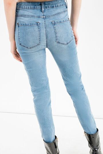 Jeans skinny fit stretch vita alta, Lavaggio medio, hi-res