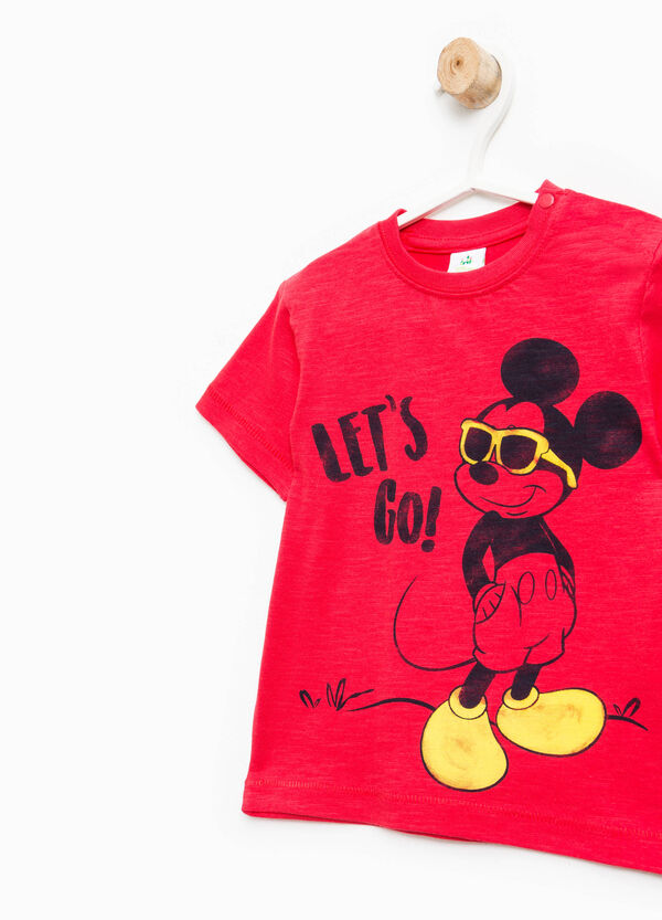 Camiseta con estampado de Mickey Mouse | OVS