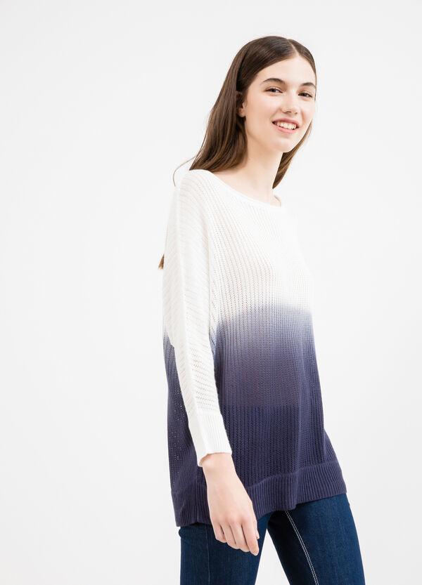 Pullover traforato tricot degradé | OVS