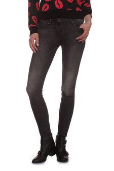 Jeans skinny, Nero, hi-res