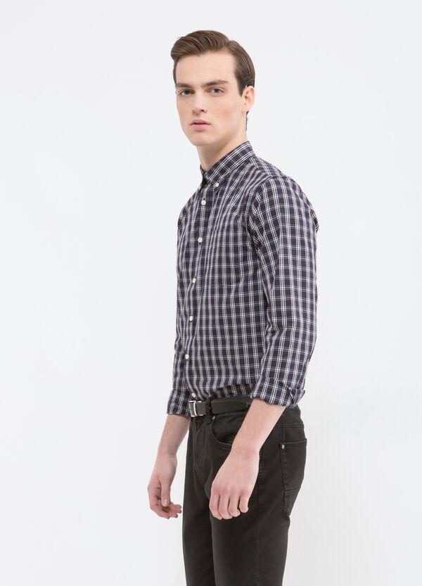 Camicia con taschino misto cotone | OVS