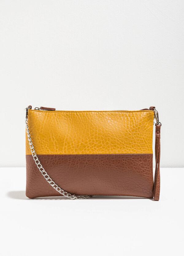 Two-tone shoulder bag | OVS