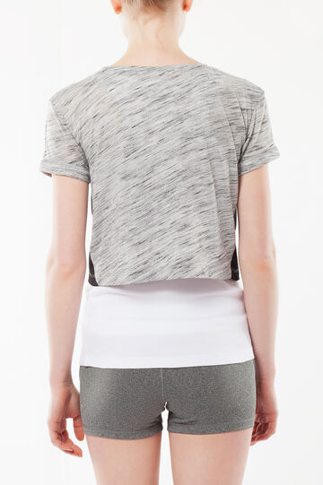 Short sleeve T-shirt, Light Grey Marl, hi-res