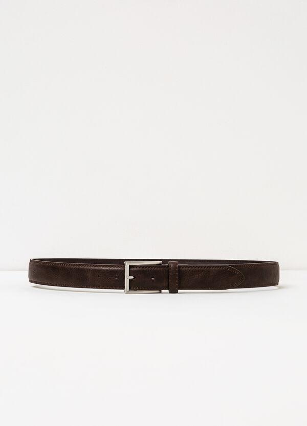 Cintura tinta unita fibbia lucida | OVS