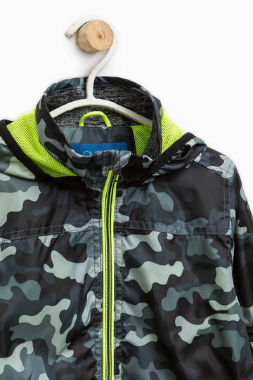 Camouflage patterned jacket, Army Green, hi-res