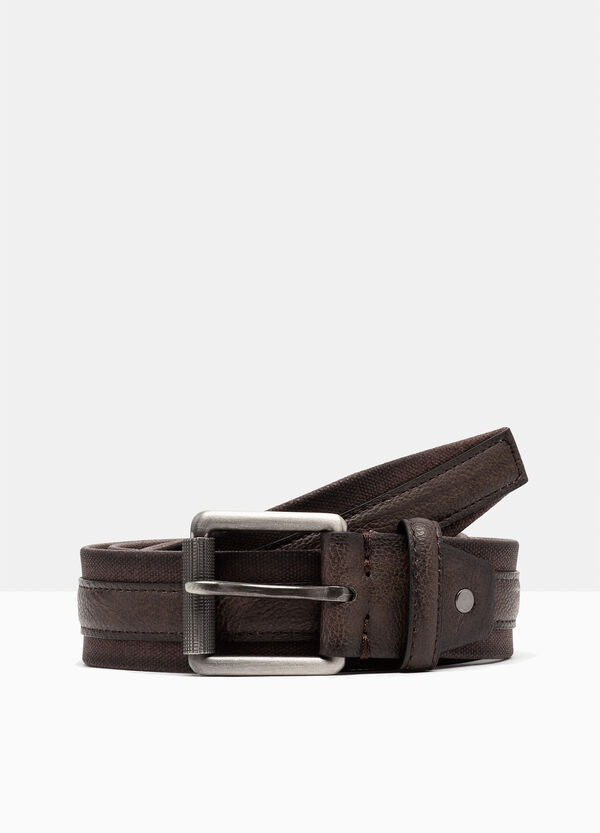Belt with central insert | OVS