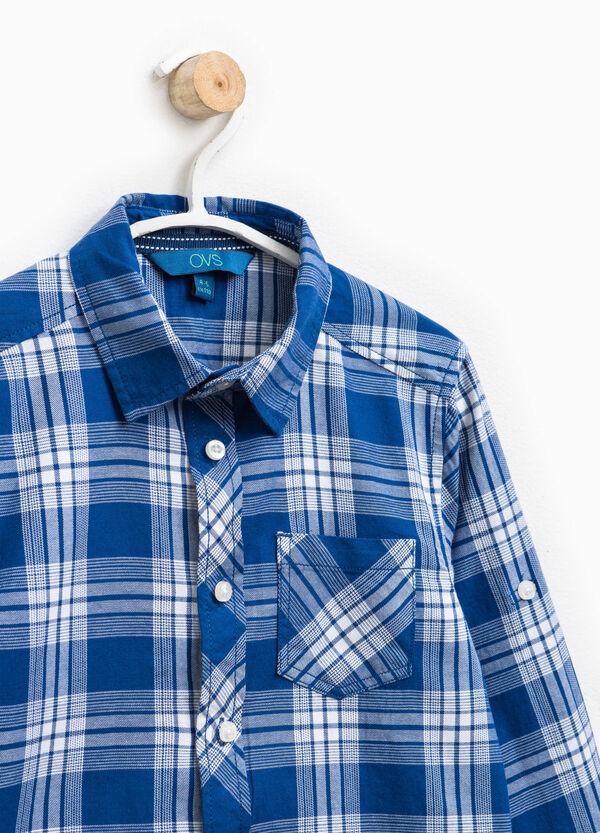 Camicia in puro cotone tartan | OVS